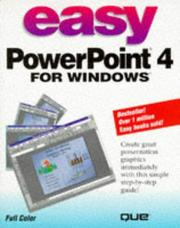 Cover of: Easy PowerPoint 4 for Windows | Bryan Pfaffenberger