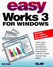 Cover of: Easy Works 3 for Windows | Sandra E. Eddy