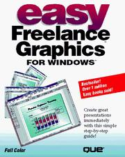 Cover of: Easy Freelance graphics for Windows
