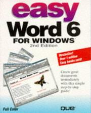 Cover of: Easy Word 6 for Windows