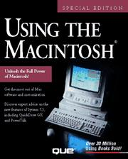 Cover of: Using the Macintosh