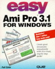 Cover of: Easy Ami Pro 3.1 for Windows