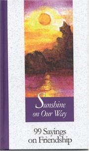 Cover of: Sunshine on our way |