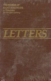 Cover of: Letters 211-270, 1-29 (Works of Saint Augustine) | Augustine of Hippo