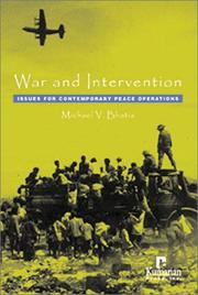 Cover of: War and intervention | Michael V. Bhatia