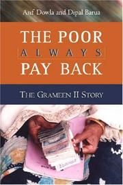 Cover of: The Poor Always Pay Back | Asif Dowla, Dipal Barua