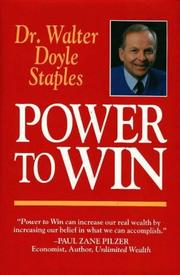 Cover of: Power to win