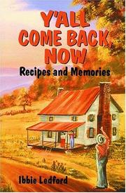 Cover of: Y'all come back, now