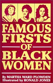 Cover of: Famous firsts of Black women