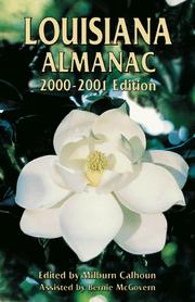 Cover of: Louisiana Almanac 2002-2003 (Louisiana Almanac) | Milburn Calhoun