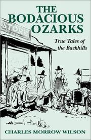 Cover of: The Bodacious Ozarks
