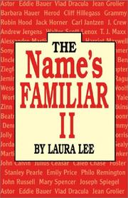 Cover of: The name's familiar II