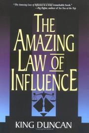 Cover of: The Amazing Law of Influence
