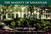 Cover of: The Majesty of Savannah (GA)