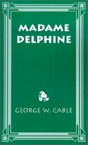 Cover of: Madame Delphine