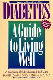 Cover of: Diabetes | Ernest Lowe