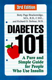 Cover of: Diabetes 101