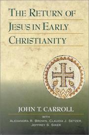 Cover of: The return of Jesus in early Christianity