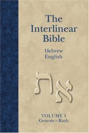 Cover of: The Interlinear Bible | Jay P. Green