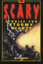 Cover of: Scary stories for stormy nights #5