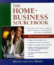 Cover of: Home business sourcebook