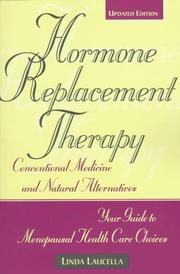 Cover of: Hormone Replacement Therapy | Linda Laucella