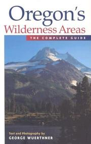 Cover of: Oregon's wilderness areas