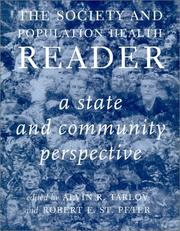 Cover of: The Society and Population Health Reader, Volume 2 |