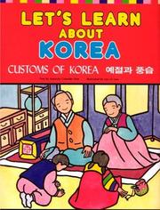 Cover of: Let's Learn About Korea