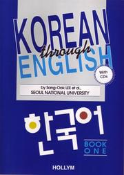 Cover of: Korean through English | Seoul National University
