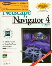 Official Netscape Navigator 4 book