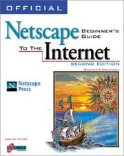 Cover of: Official Netscape beginner's guide to the Internet