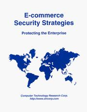 Cover of: E-commerce security strategies
