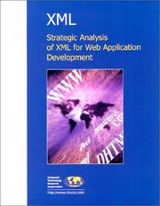 Cover of: XML