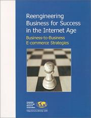 Cover of: Reengineering Business for Success in the Internet Age