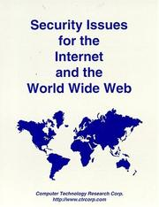 Cover of: Security issues for the Internet and the World Wide Web