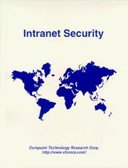 Cover of: Intranet security