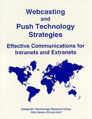 Cover of: Webcasting and push technology strategies