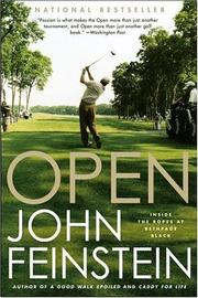 Open by John Feinstein