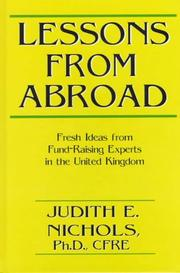 Cover of: Lessons from Abroad | Judith E. Nichols