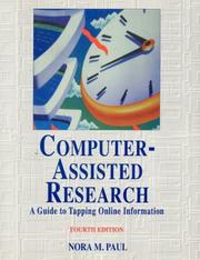 Cover of: Computer assisted research