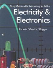 Cover of: Electricity and Electronics | Howard H. Gerrish