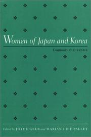 Cover of: Women of Japan and Korea