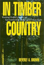 Cover of: In timber country | Beverly A. Brown