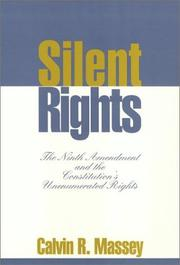 Cover of: Silent rights | Calvin R. Massey