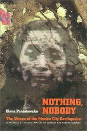 Cover of: Nothing, nobody