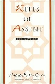 Cover of: Rites of assent