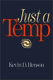 Cover of: Just a temp