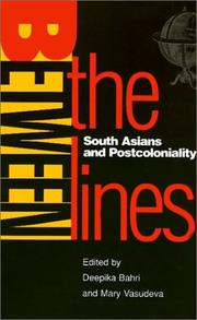 Cover of: Between the lines |