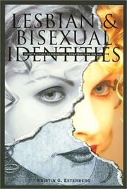 Cover of: Lesbian and bisexual identities